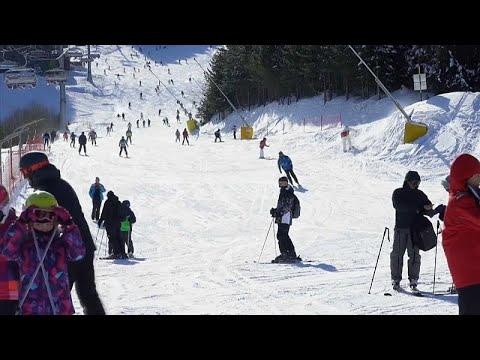 Estância de esqui acaba com uso do plástico na zona das pistas