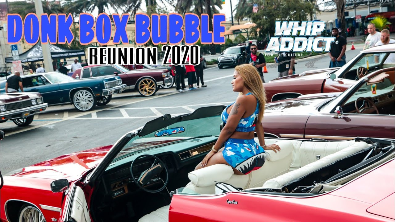 DONK, BOX, BUBBLE Reunion Car Show, Orlando Classic 2020, Florida, Georgia, Alabama, Chicago Whips