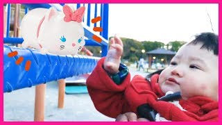 The Three Little Kittens Nursery Rhyme song for kids Pretend play Disney ディズニーごっこ ねこ 英語 子供のうた 童謡