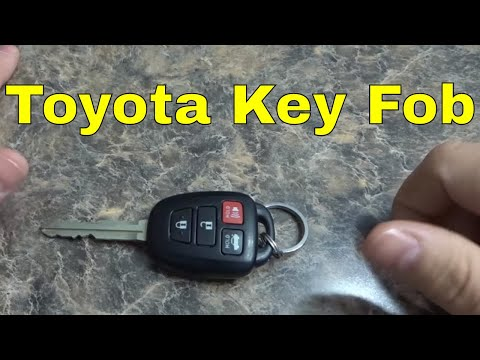 How To Replace A Toyota Key Fob Battery-Corolla, Camry, Etc.