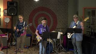 Ryan, Julian and Robert Performing Be Alright Main Street Music and Art Studio