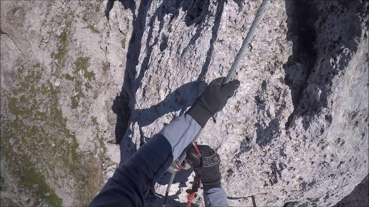 Klettersteig Nordkette : Klettersteig nordkette innsbruck youtube