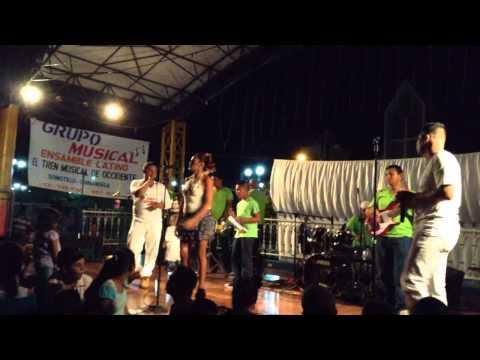 Ensamble Latino en vivo, parque municipal de somotillo