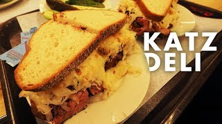 NYC | Katz Deli Pastrami Reuben review & 3am empty Times Square