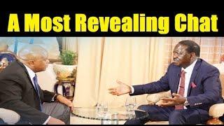Raila Reveals Secret In KTN's Point Blank Show
