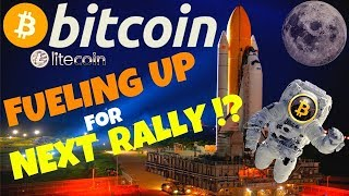 🚀BITCOIN FUELING UP FOR NEXT RALLY!?🚀btc ltc price prediction, analysis, news, trading