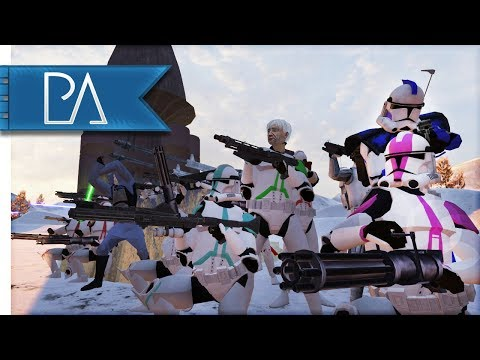 EPIC STAR WARS BATTLE: DROIDS ATTACK! - Bear Force II Mod Gameplay