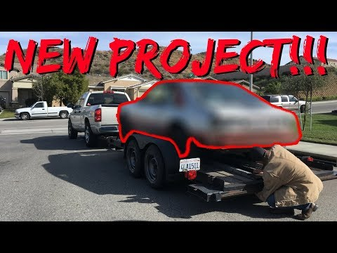 We Got a New Drag Car Project!