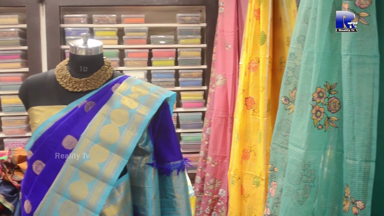 Gayathri Reddy Traditional Designers Studio Sainikpuri Hyderabad Silk Sarees And Blouses Youtube