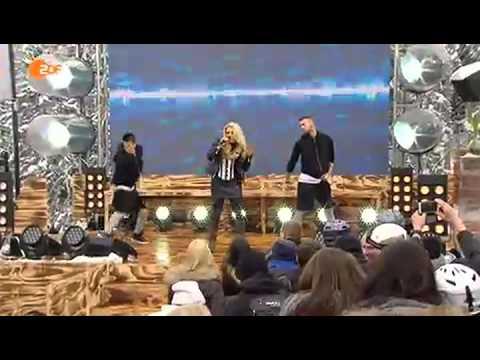 Cascada Live ZDF Fernsehgarten 15022015