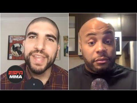 DC & Helwani Disagree About Gilbert Burns' Title Shot Worthiness   ESPN MMA