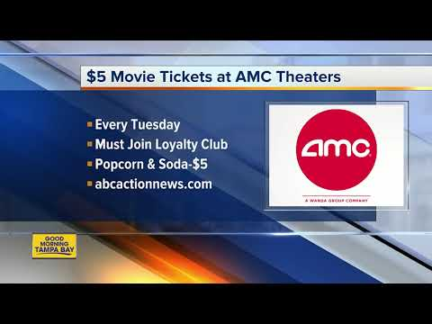 AMC Theatres Bringing Back $5 Movie Tickets On Tuesdays — Permanently