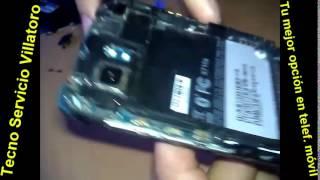 Reparación  HTC Vivid 4G X710a No lee la Sim Card