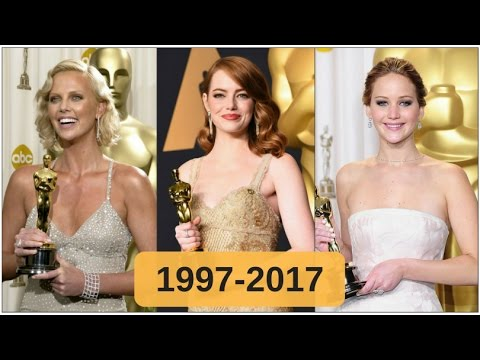 Oscar-winning best actresses 1997-2017