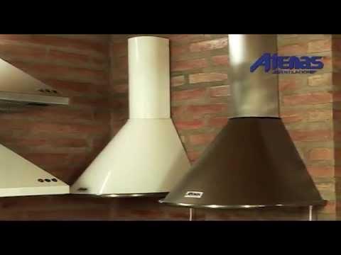 Campanas de Cocina  Atenas Ventilacion  YouTube