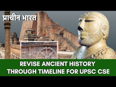 Revise Ancient History (प्राचीन भारत) Through Timeline For UPSC CSE By Abhishek Srivastava