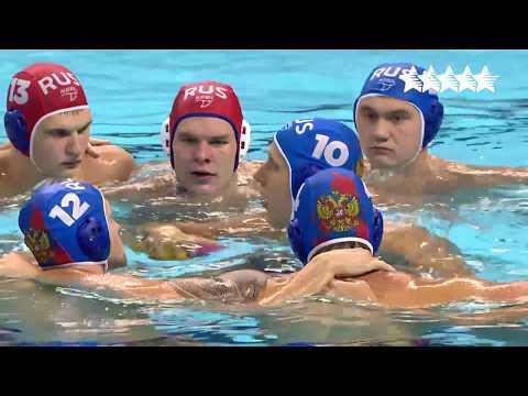 Water polo Men's Final SRB vs RUS - 29th Summer Universiade 2017, Taipei, Chinese Taipei