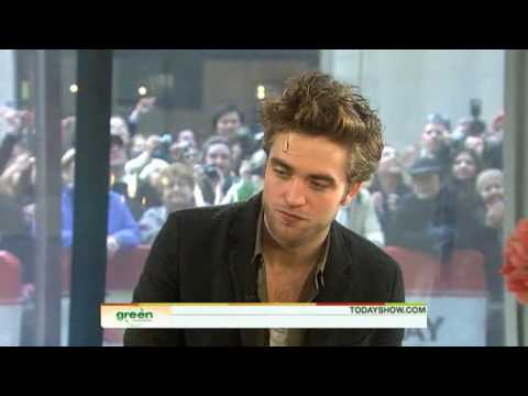 Robert Pattinson TODAY:ONE-ON-ONE ' True Or False: Rob Dating Kristen? '