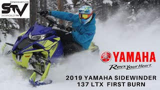 2019 Yamaha Sidewinder 137 LTX  First Burn