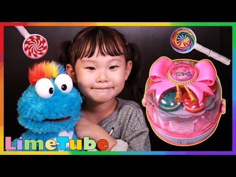 시크릿쥬쥬 스탬프 디저트샵 라임이의 도장찍기와 색깔 맞추기 장난감 놀이 LimeTube & Toy 라임튜브