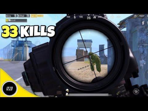 33 Kills Hardcore Mode😈 - PUBG Mobile - Solo Vs Squads!