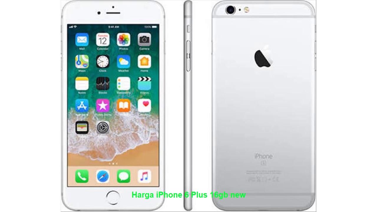 Harga iPhone 6 Plus 16gb new
