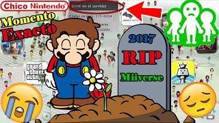 Miiverse se MURIÓ!!! Momento EXACTO. Nintendo está de Luto / Chico Nintendo