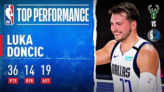 Luka Doncic Drops His NBA-Leading 17th Triple-Double!