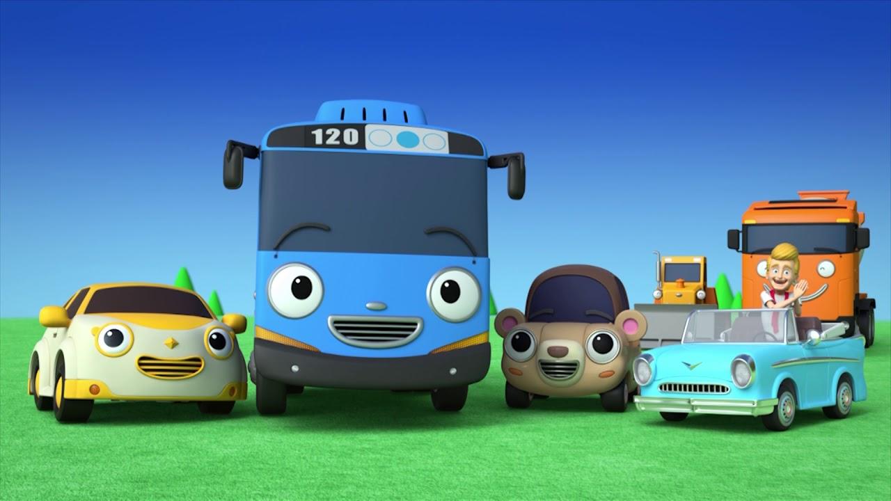 Tayo Lagu Alat-Alat Berat yang Kuat l Lagu untuk anak anak l Tayo bus kecil