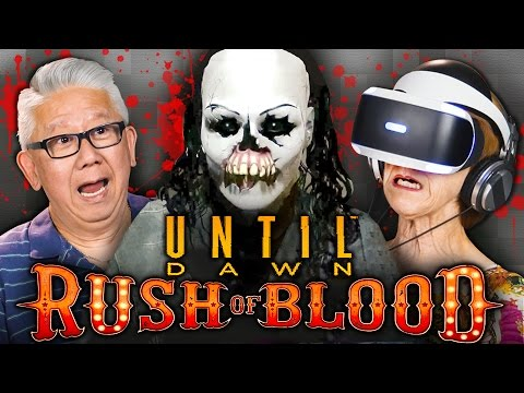 SCARY CLOWNS! | Until Dawn: Rush of Blood (PSVR | Elders React Gaming)