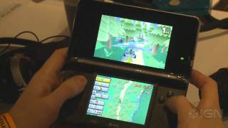 Mario Kart 3DS - E3 2011: Offscreen Gameplay Part 2