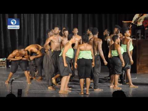 Art House: National Troupe Of Nigeria, Eda Theatre Troupe Perform ''MAAFA''