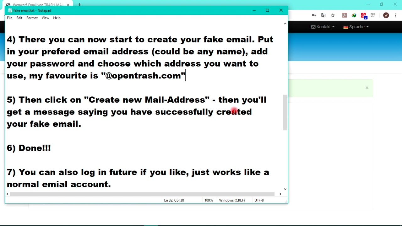 Fake Email List