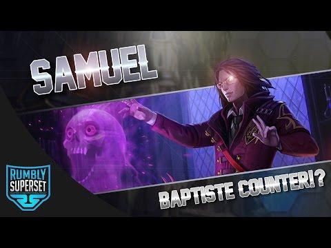Vainglory Gameplay - Episode 315: BAPTISTE COUNTER!? Samuel  CP  Jungle Gameplay [Update 2.4]