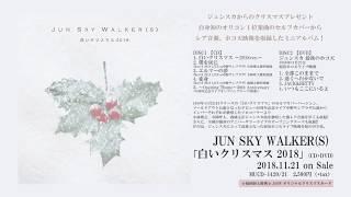 JUN SKY WALKER(S) 『白いクリスマス 2018』 http://junskywalkers.jp/ ...