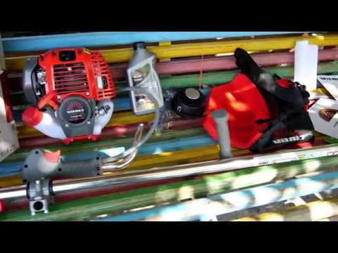 Обзор и тест четырехтактной мотокосы Vitals Master BK 3109-4a. Сравнение с электро