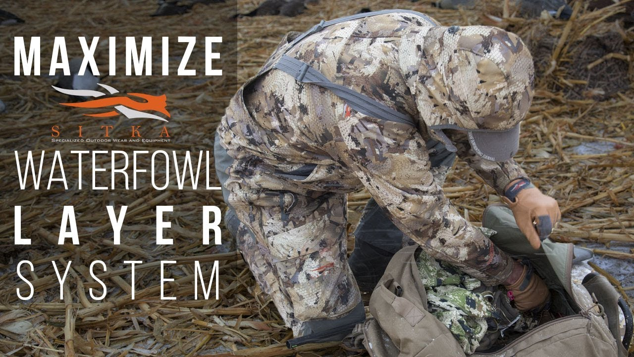 dc78e892c3f Sitka s Waterfowl Hunting System - Early to Late Season Camo Gear ...
