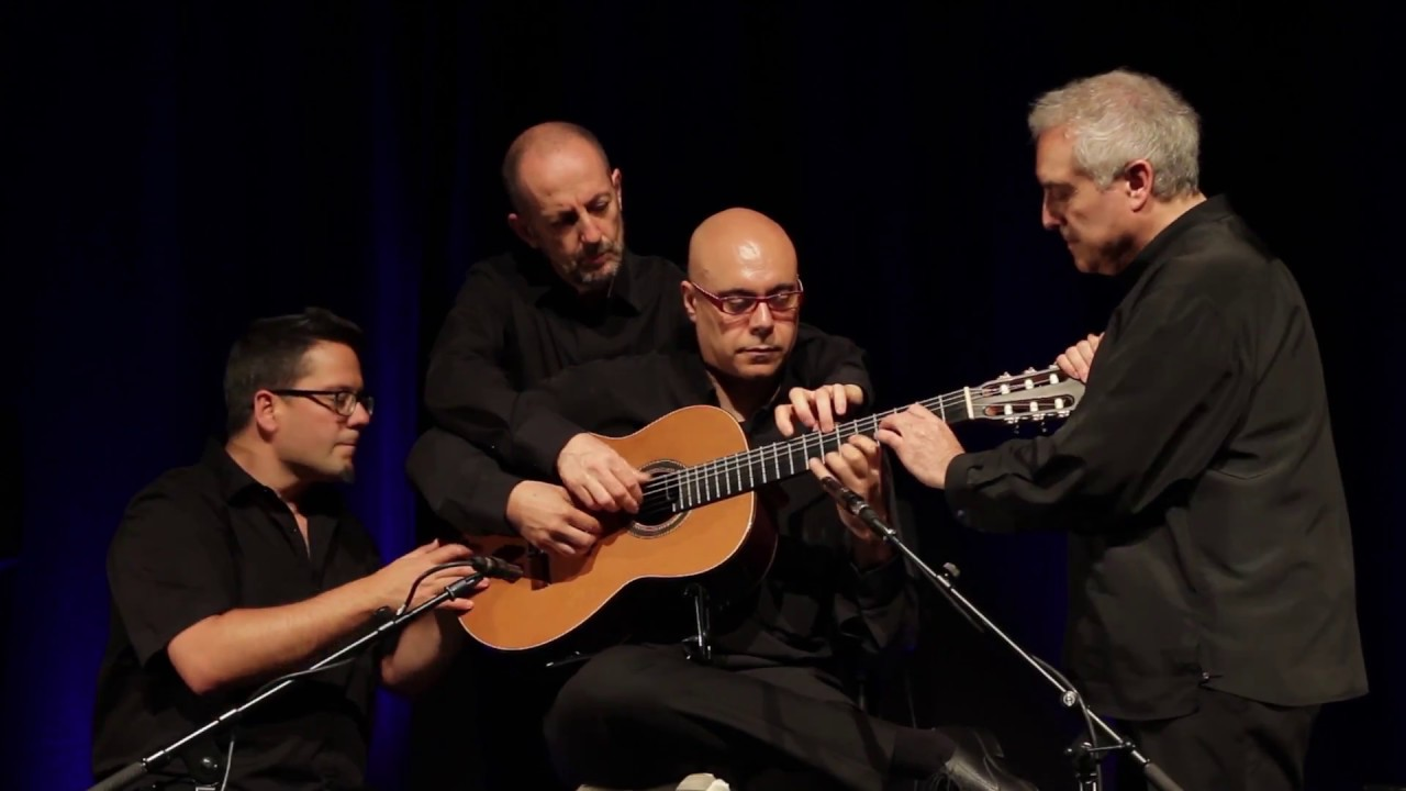 Barcelona 4 Guitars Bolero De Ravel Palau De La Música Catalana Youtube