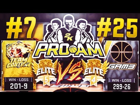 #7 TEAM CAUTION VS #25 BALL GAM3 ! RANKED PRO AM GAMES EP: 1