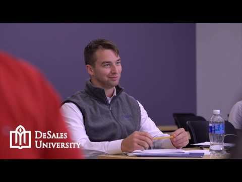 DeSales MBA - Your Next Career Step Starts Here