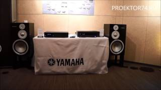 Обзор акустической системы Yamaha NS-5000