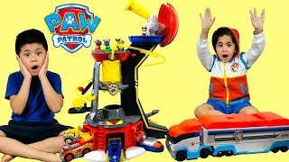 NEW PAW PATROL Mighty Lookout Tower Mighty Pups Super Paws TBTFUNTV