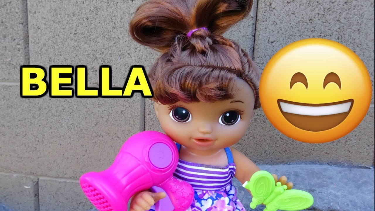 BABY ALIVE New Cute Hairstyles Baby Doll Unboxing! - YouTube