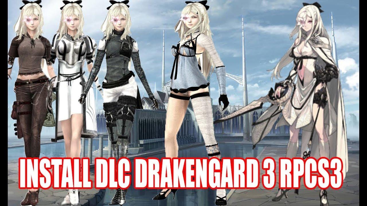 Cara Install game DLC Pada RPCS3