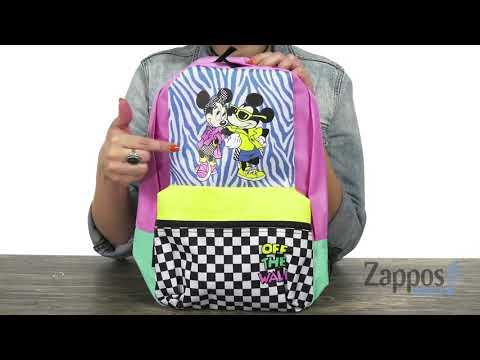 Vans Mickey's 90th Hyper Minnie Calico Backpack SKU: 9188279
