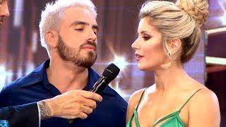 La discusión entre Fede Bal y Laurita Fernández en ShowMatch