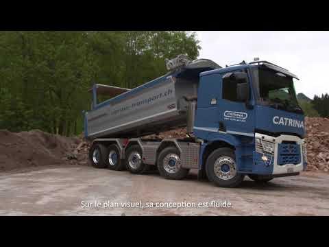 Témoignage d'une entreprise suisse utilisatrice d'un Renault Trucks C