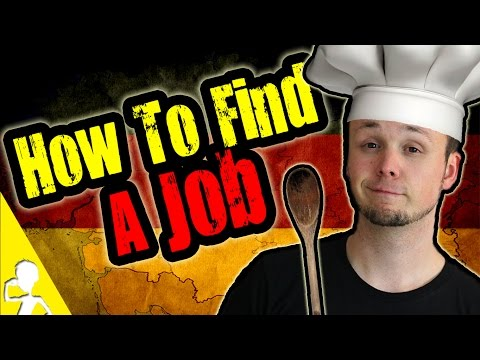 How To Find A Job In Germany