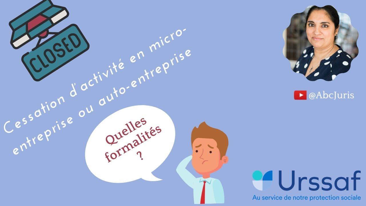 Cessation D Activite En Micro Entreprise Quelles Formalites Youtube