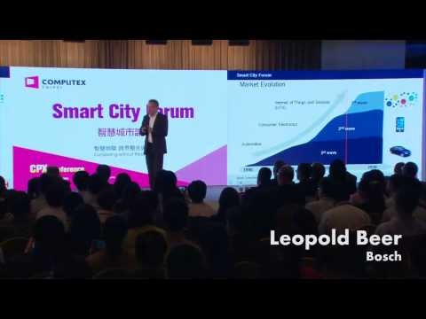Reshaping the Cities of the Future - COMPUTEX TAIPEI 2015 Smart City Forum